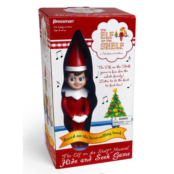 The Elf on the Shelf Hide and Seek Game