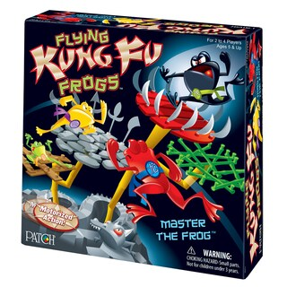 Patch Products Flying Kung Fu Frogs Game