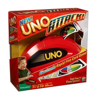 Mattel Uno Attack Relaunch Game