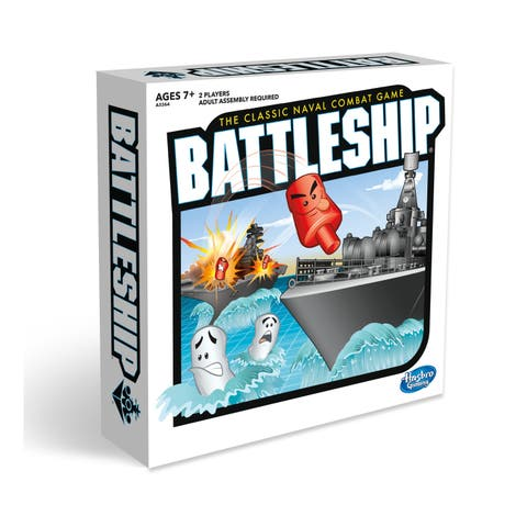 Hasbro Battleship Game - Black