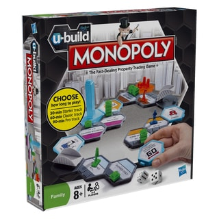 Hasbro U Build Monopoly Board Game