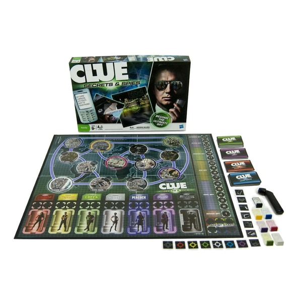 Hasbro Clue Secrets and Spies Edition Game