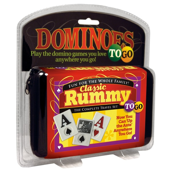 Puremco Classic Rummy To Go Game