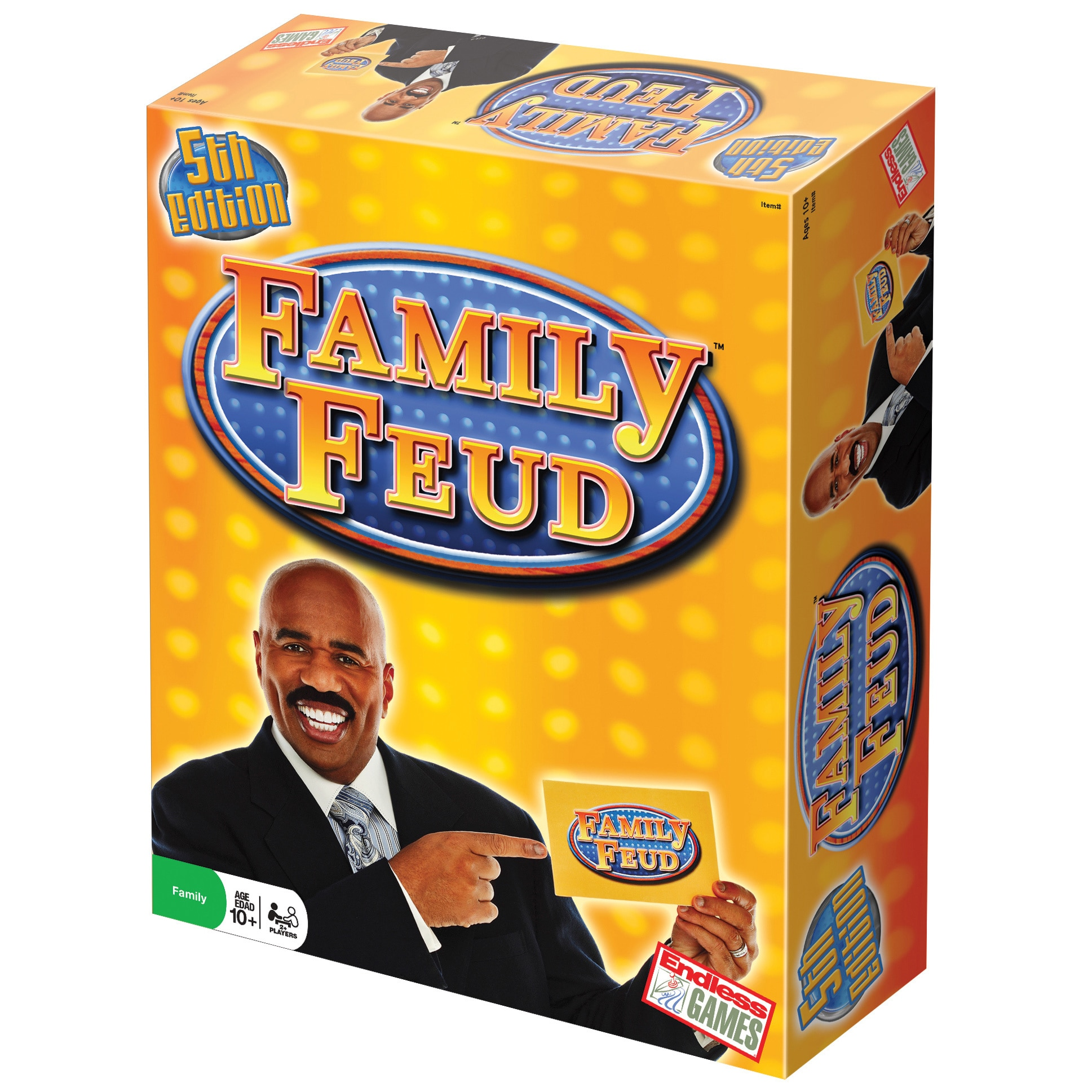 Endless Games Classic Family Feud 5th Edition, Yellow