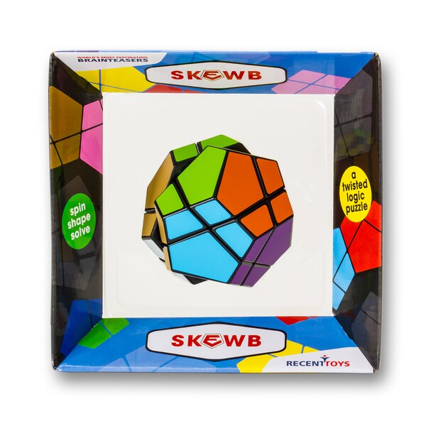 Meffert's Puzzles Skewb Puzzle