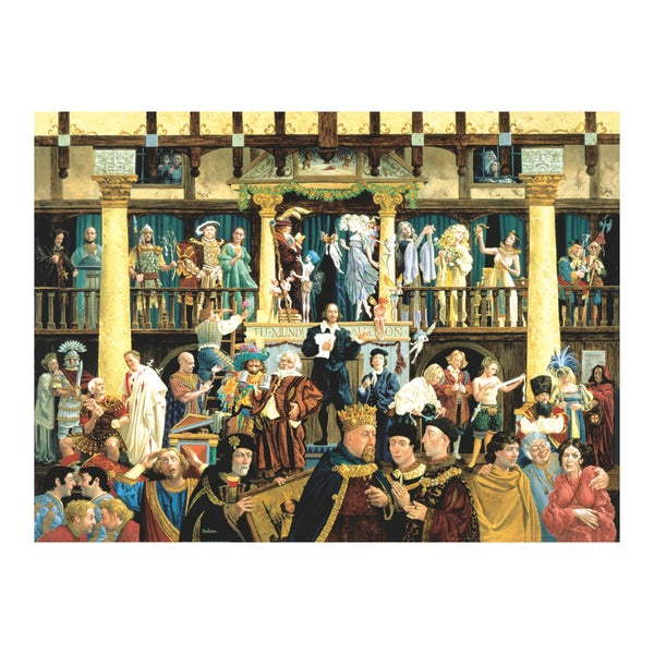 All The World's A Stage 1500-piece Jigsaw Puzzle