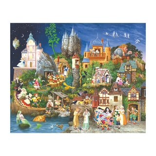 Fairy Tales 1500-piece Jigsaw Puzzle
