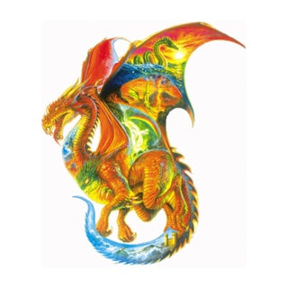 Dragon Dreams Shaped 1000-piece Puzzle
