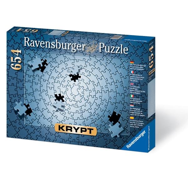Krypt Blank 654-piece Puzzle Challenge