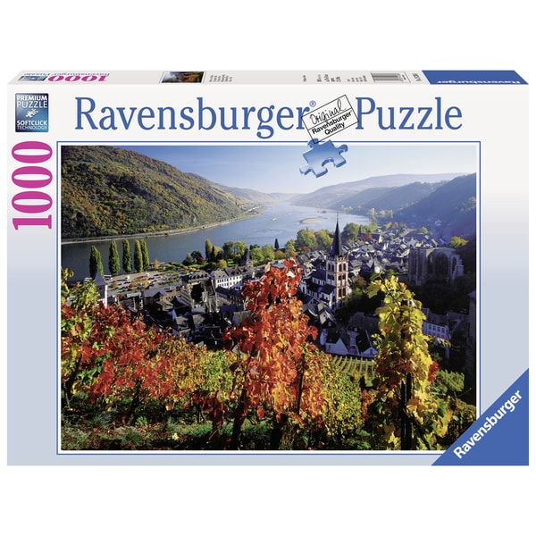 On the River Rhine 1000-piece Jigsaw Puzzle
