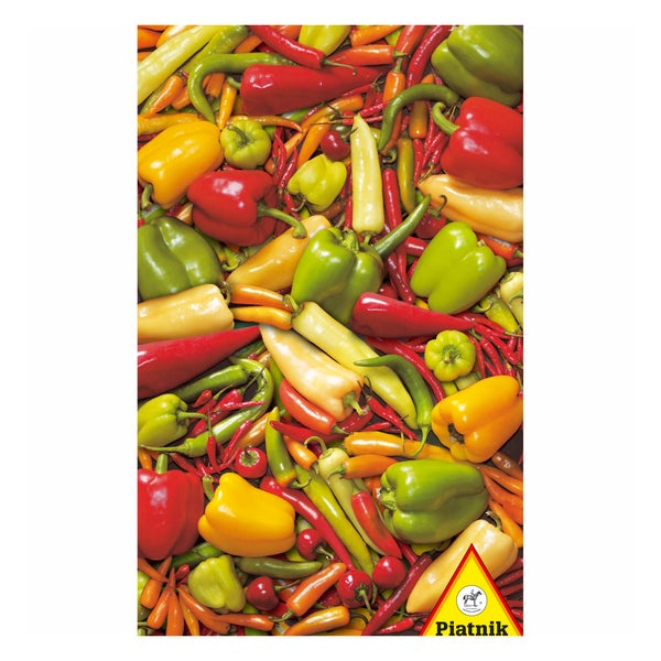 Peppers and Chilies 1000-piece Jigsaw Puzzle