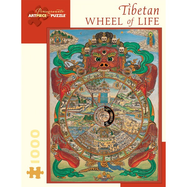 Tibetan 'Wheel of Life' 1000-piece Puzzle