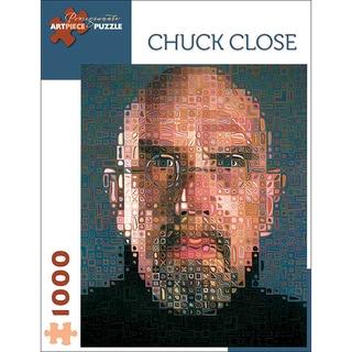 Chuck Close 'Self Portrait' 1000-piece Puzzle