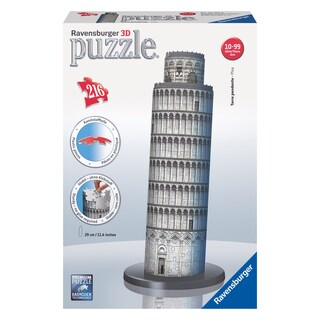 Leaning Tower of Pisa 216-piece 3D Puzzle