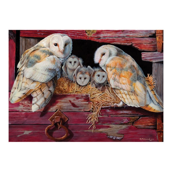 'Barn Owls' 1000-piece Puzzle