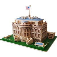 The White House Natural Wood 3D Puzzle