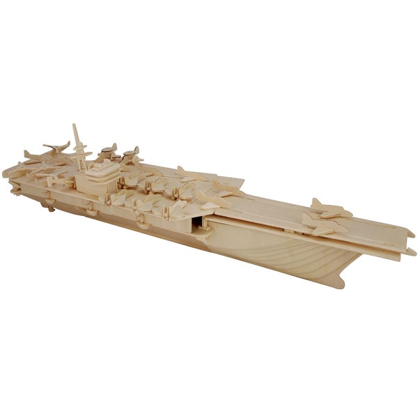 Aircraft Carrier Wooden 3D Puzzle