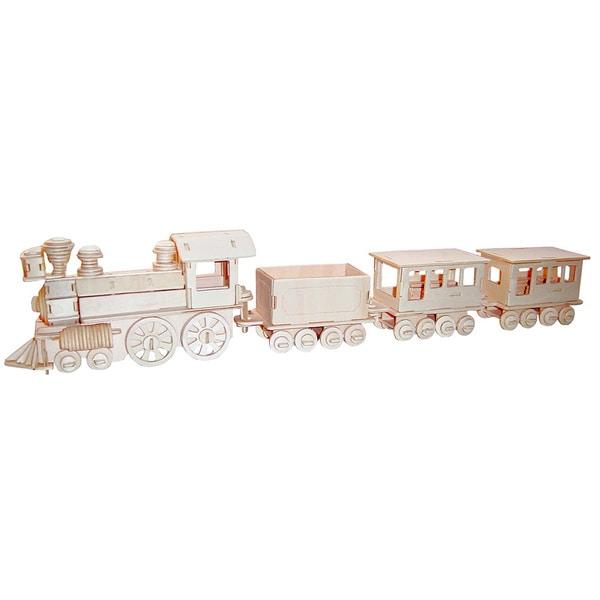 Train Wooden 3D Puzzle