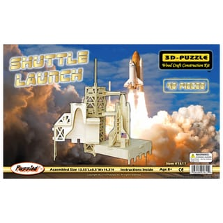 Shuttle Launch 3D Puzzle