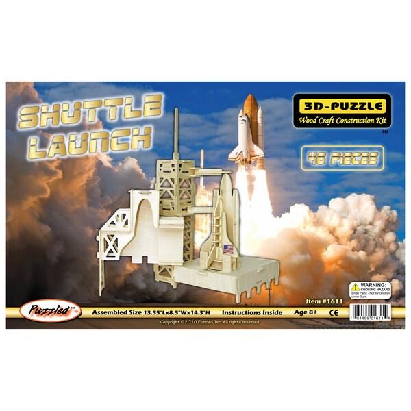 Shuttle Launch 3D Puzzle