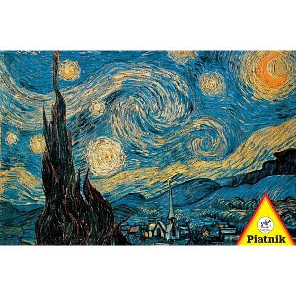 Van Gogh Starry Night Jigsaw Puzzle: 1000 Pcs