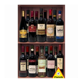 Wine Bottles Jigsaw Puzzle: 1000 Pcs