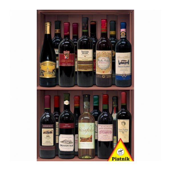 Wine Bottles Jigsaw Puzzle: 1000 Pcs