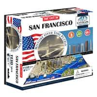 4D Cityscape Time Puzzle - San Francisco, USA