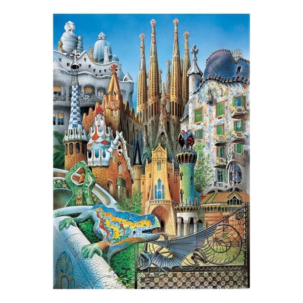 Collage Mini 1000-piece Jigsaw Puzzle