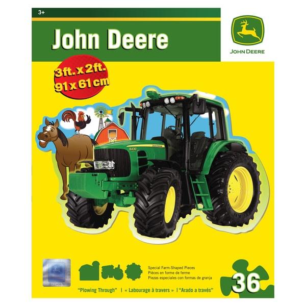 John Deere Plowing 36-piece Floor Puzzle