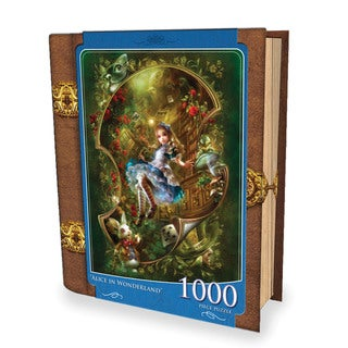 Fairytales Book Box Alice in Wonderland 1000-piece Puzzle