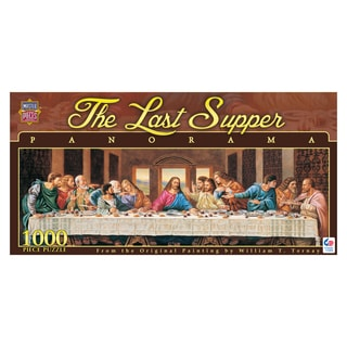 The Last Supper Panorama 1000-piece Puzzle