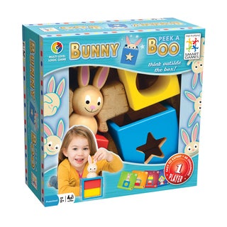Bunny Peek-a-Boo Board Game