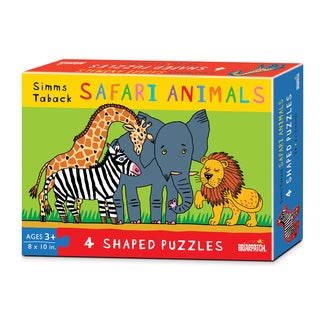 Simms Taback 40-piece Safari Puzzles (4-pack)