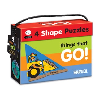 SAMi 4-shape 'Things That Go!' 23-piece Puzzle