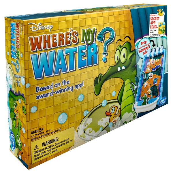 Disney 'Where's My Water?' Signature Board Game