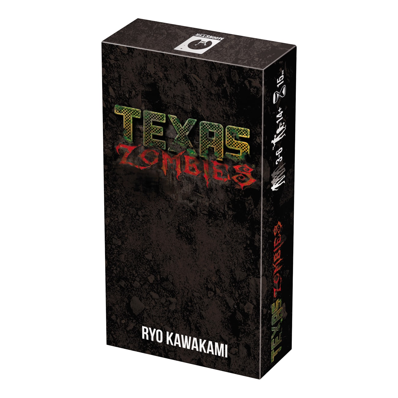 Asmodee Editions Texas Zombies Board Game (Texas Zombies)...