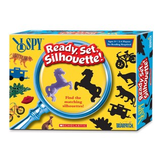 I Spy: Ready, Set, Silhouette Board Game