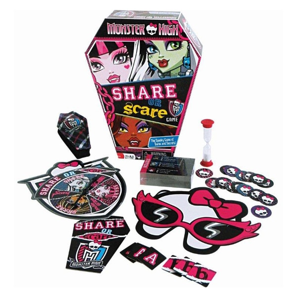 Monster High Share or Scare Game
