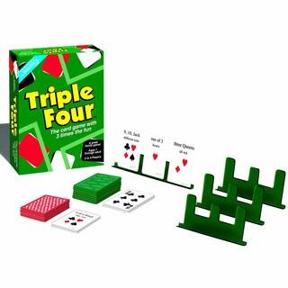 Jax Ltd. Triple Four Card Game
