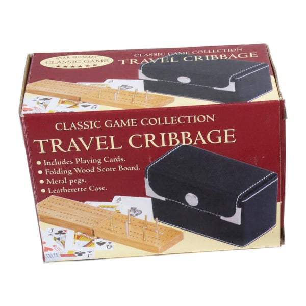 Travel Cribbage Game and Playing Cards