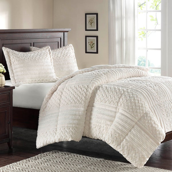 Premier Comfort Silverton Fur Down Alternative 3-piece Comforter Set