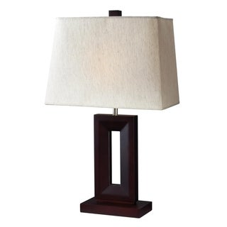 Z-Lite 1-light Table Lamp with Linen Shade