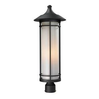 Z-Lite Matte Opal Outdoor Post Light