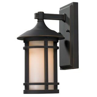Z-Lite Brown Outdoor Wall Light