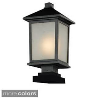 Z-Lite Seedy Glass Outdoor Post Light