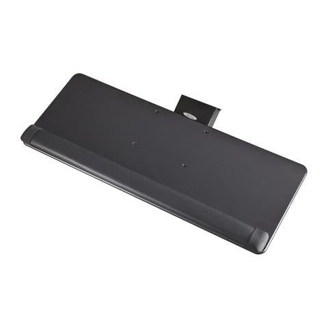 Safco Knob Adjust Keyboard Platform with Wrist Rest
