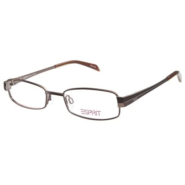 32a05dffc43 Shop Esprit ET9341 535 Brown Prescription Eyeglasses - Free Shipping ...