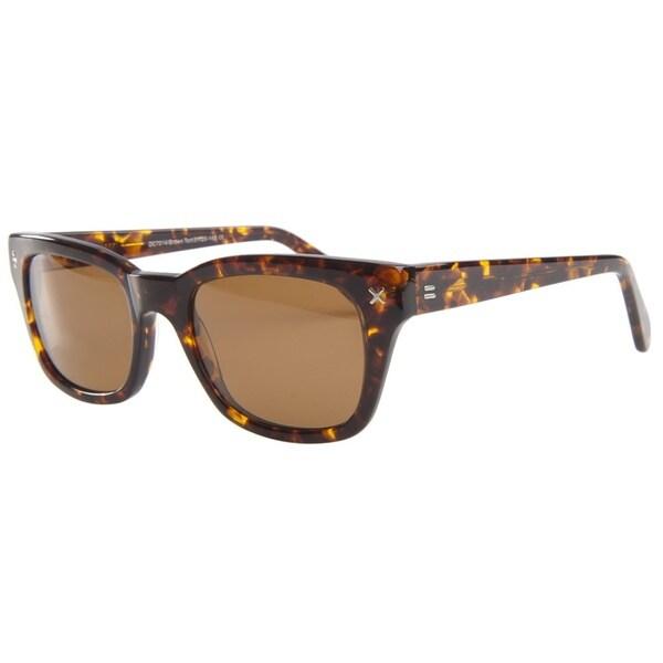 Derek Cardigan Sun 7014 Brown Tortoiseshell Sunglasses
