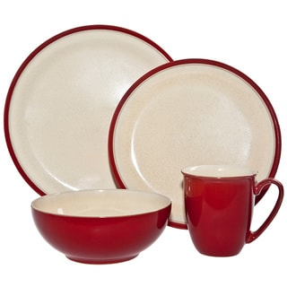 Denby 'Dine' 4-piece Cherry Place Setting